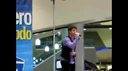 Ucker cantando Inalcanzable (hermosillo)