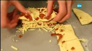 "Надиплен хляб с бекон в ""Бон Апети"""