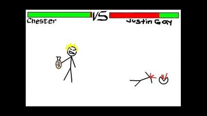 Chester Bennington Vs Justin Bieber