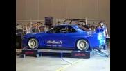 Звукът На 700 к.с. - Nissan Skyline R34 !