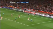 Arsenal 2:1 Barcelona at Emirates! Champions League - 16.02.2011