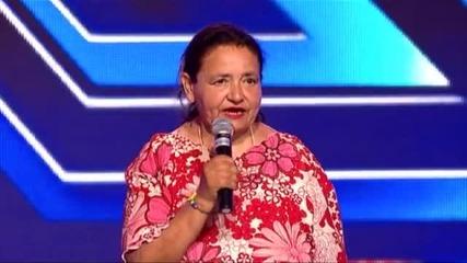 Валентина Тошева - X Factor (25.09.2014)