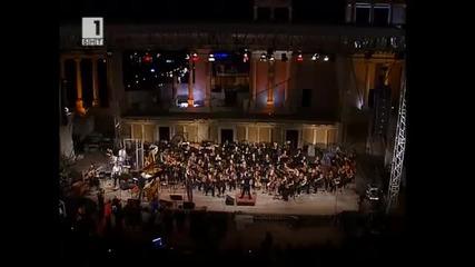 Джон Лорд в Пловдив - 01.09.2 009 год.- Античен театър