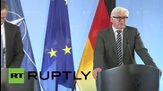 Germany: Steinmeier and Stoltenberg talk strategic consequences of Greek crisis