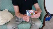 Страхотен магически трик с кутийка от карти