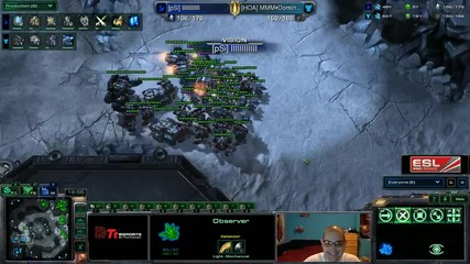 Starcraft 2: Sweps[p] vs Dominion[t] - Eps квалификация #11
