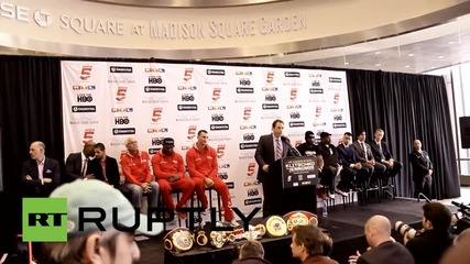 USA: Shannon Briggs привлича вниманието на пресконференцията на Klitschko, желае битка за титлата