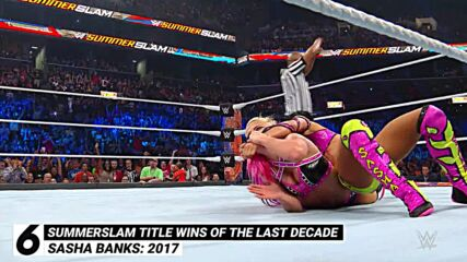 SummerSlam title wins of the last decade: WWE Top 10, Aug. 1, 2021