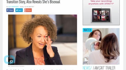 Rachel Dolezal Says She ''Cried'' Over Caitlyn Jenner's Transition Story, Also Reveals She's Bisexual
