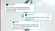 See Adam Levine Get Ambushed by a Fan