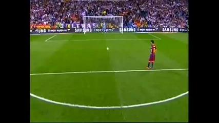 16.04.2011 - Ел Класико - Реал Мадрид 0-1 Барселона гол от дуспа на Лионел Меси