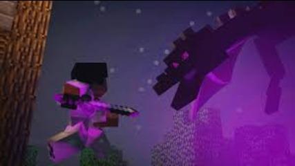 Minecraft Song ♪ _My World_ a Minecraft Song Parody (Minecraft Animation)