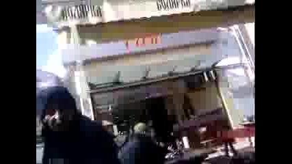 Ciganka pred kafe Viva - grad Veliko Turnovo