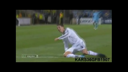 Cristiano Ronaldo~real Madrid~skills and Goals Compilation
