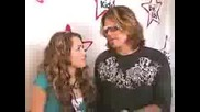 Miley Cyrus and Billy Ray Cyrus Aol Red Interview 2006