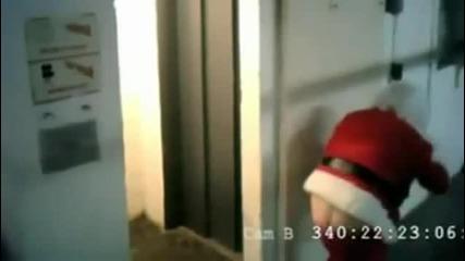 Пияният Дядо Коледа!