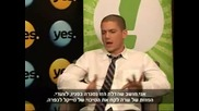 Wentworth Miller - Israel Full Interview