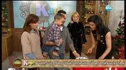 """""""На кафе"""" с Лео Бианки и семейството му на Коледа (25.12.2015) - част 2"""