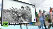 Russia: Muscovites celebrate Day of the Russian Airborne Troops in Gorky Park