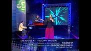 Деница Георгиева - Music idol 2 - 10.03.08 - Малък концерт жени (супер качество) много добър глас!!
