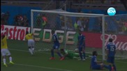 Колумбия победи Гърция с класическото 3:0 ( 14 .06.2014 )
