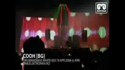 Cooh live Drumnbass white 003 Bucharest