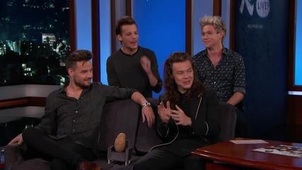 One Direction - Интервю в Jimmy Kimmel Live