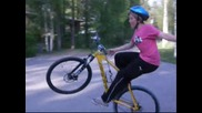 Mtb Stunts - No - handed wheelies, manuals, stoppies and much