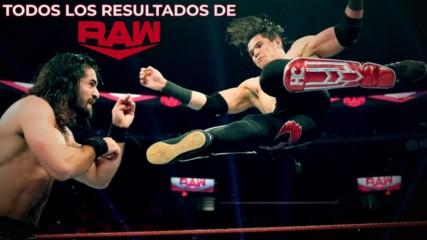 Todos los resultados de Raw #1378: WWE Ahora, Octubre 22, 2019