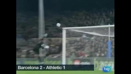 """Лео Меси изведе """"Барселона"""" до успех с 2:1 над """"Атлетик"""" (Билбао)"""