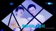(hd) F (x) Vs Wonder Girls Vs Hyungdon & Daejune - Top 3 ~ M Countdown (21.06.2012)