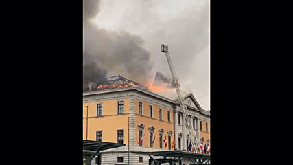 France: City hall in Annecy severely damaged by fire