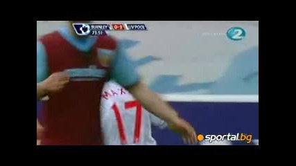 Burnley - Liverpool 0:4 25.04.2010