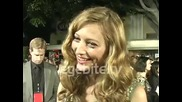 Model Noot Seear at the Twilight Saga New Moon Premiere