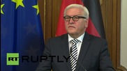 Germany: The US could accept 100,000 Syrian refugees - Kerry tells Steinmeier