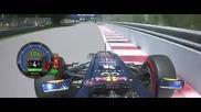 F1 Гран при на Канада 2012 - Vettel печели пол позишъна [hd]