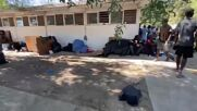 Mexico: Haitian migrants remain stranded at Ciudad Acuna camp