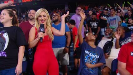 The WWE Universe takes a