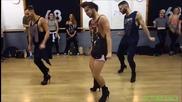Мъже с токчета. Страхотна хореография!