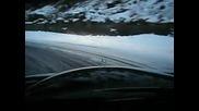 Mercedes Benz 190e 2.5 - 16 по заснежен път