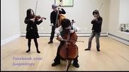 Невероятно изпълнение на Smooth Crimminal! Rock on children!
