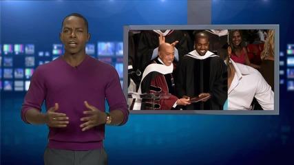 Kanye West's No Longer a College Dropout