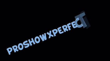 Proshow Producer Caption effect #1