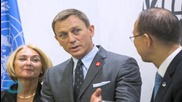 Daniel Craig Gets 'license to Save' as U.N. Envoy on Mines