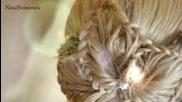 Празнична прическа за дълги коси