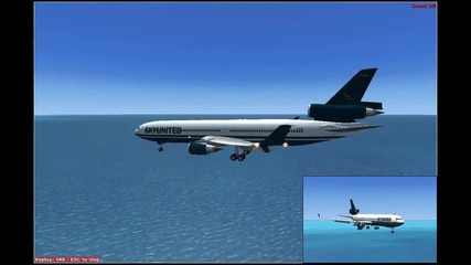 Microsoft Flight Simulator X - Md11 - My game play