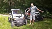 Renault Twizy от Top Rent A Car. Тест-драйв