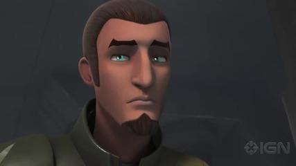 Star Wars Rebels - Yoda & kanan cnene