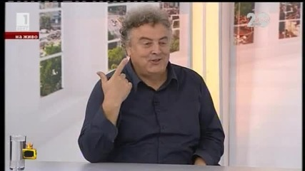 Странен разговор между Димитър Цонев и негов гост - Господари на ефира (14.11.2014)