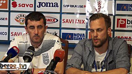 Ивайло Йорданов след Радник - Берое